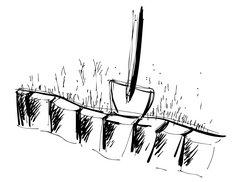 Joka-Materialkunde-Zeichnung-Torf
