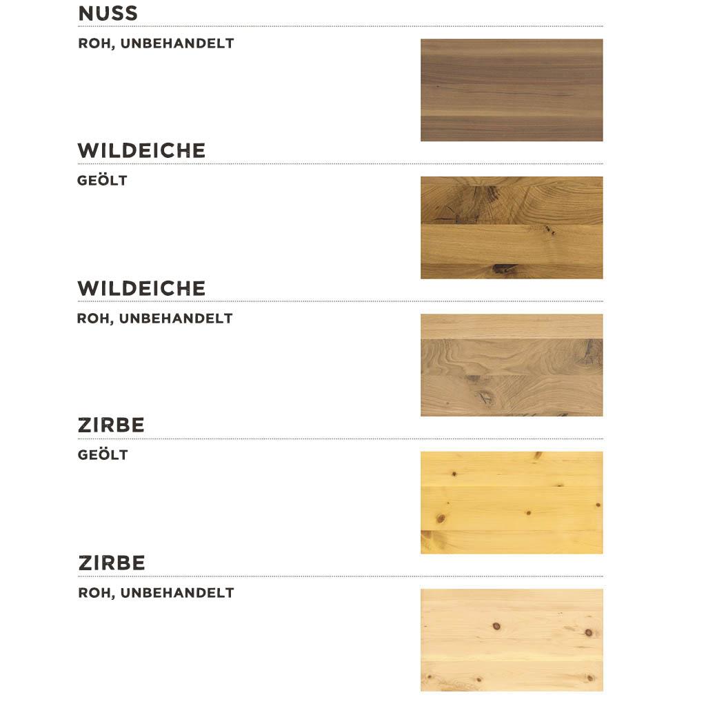 ProNatura-Joka-Linea-pura-Massivholzbett-metallfrei-Auswahl-Holzarten