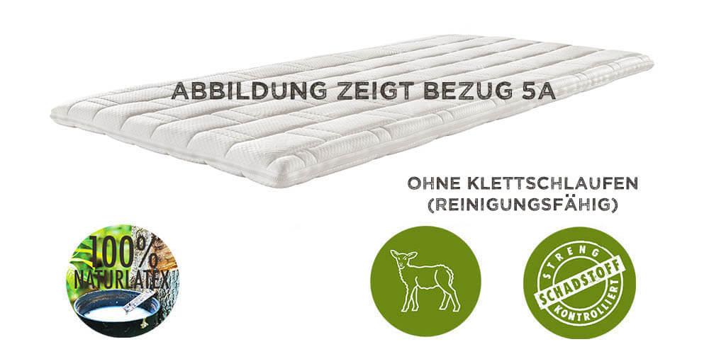 dormiente-Topper-Outside-Komfort-Outside-Bezug-5A-Strickgewebe