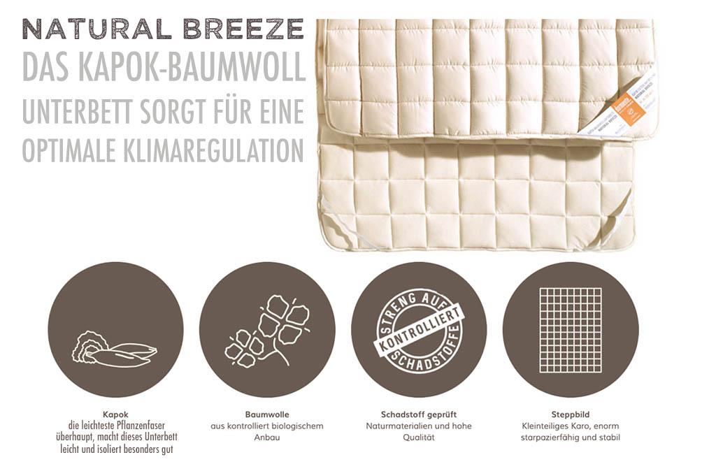 dormiente-Natural-Breeze-Kapok-Baumwoll-Unterbett-kaufen