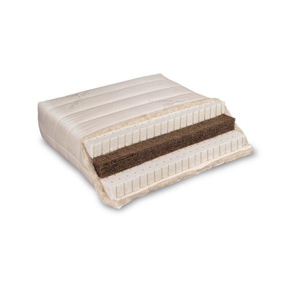 Baumberger Varia Lana Sandwich Naturlatexmatratze