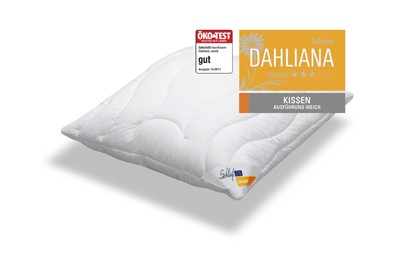 Schlafstil Dahliana Faser Kissen
