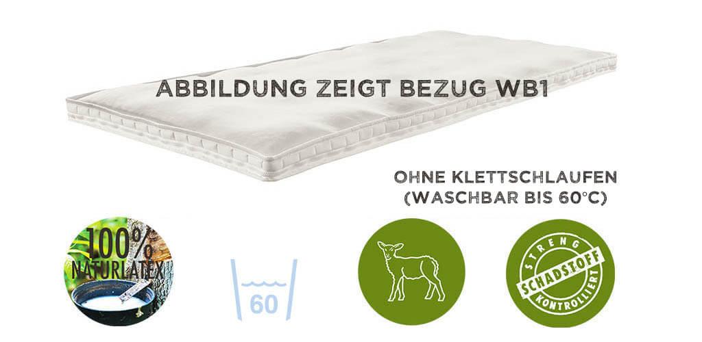 dormiente-Topper-Outside-Sensible-Zirbe-Bezug-WB1-Strickgewebe