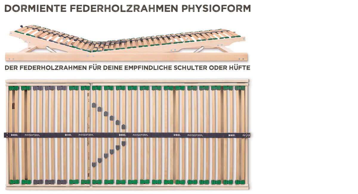 dormiente-Physioform-Federholzrahmen-Kopf-Fuss-Verstellung
