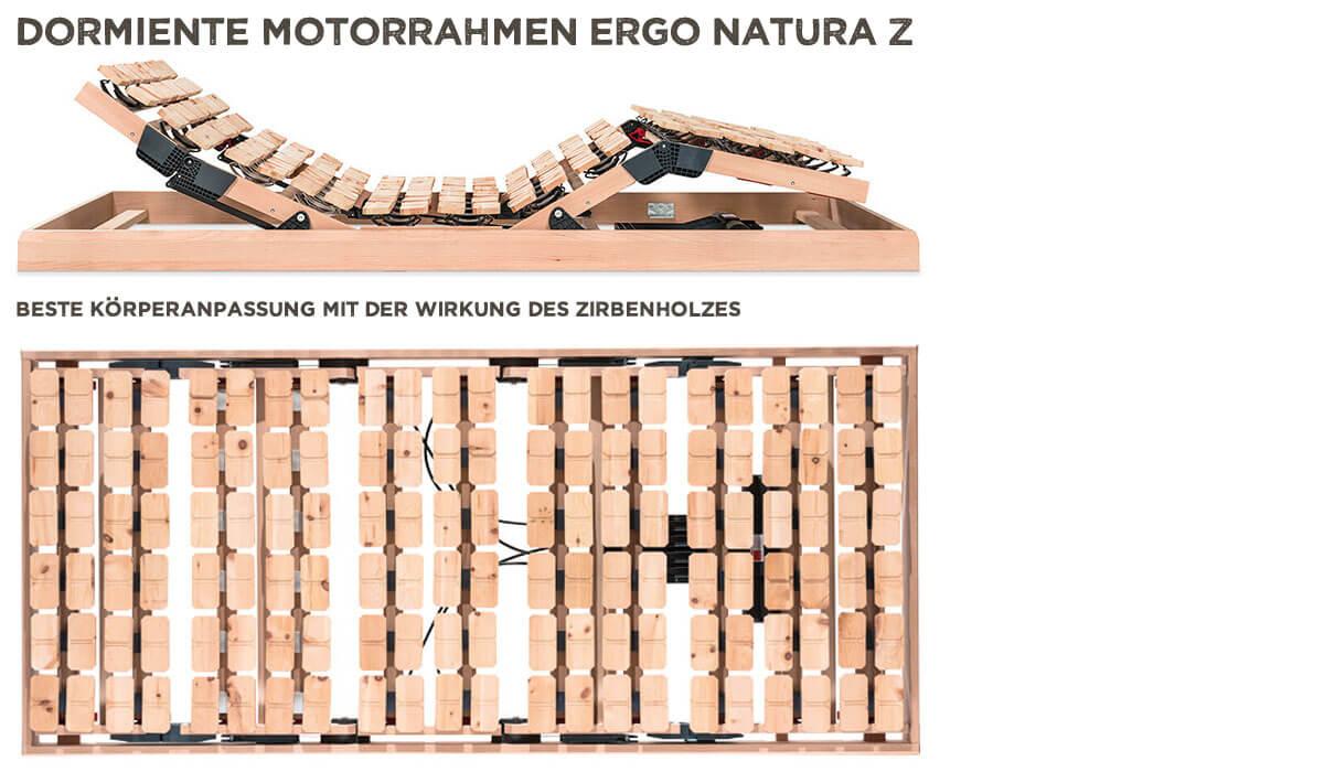 dormiente-Ergo-Natura-Z-Motorrahmen-mit-Fernbedienung