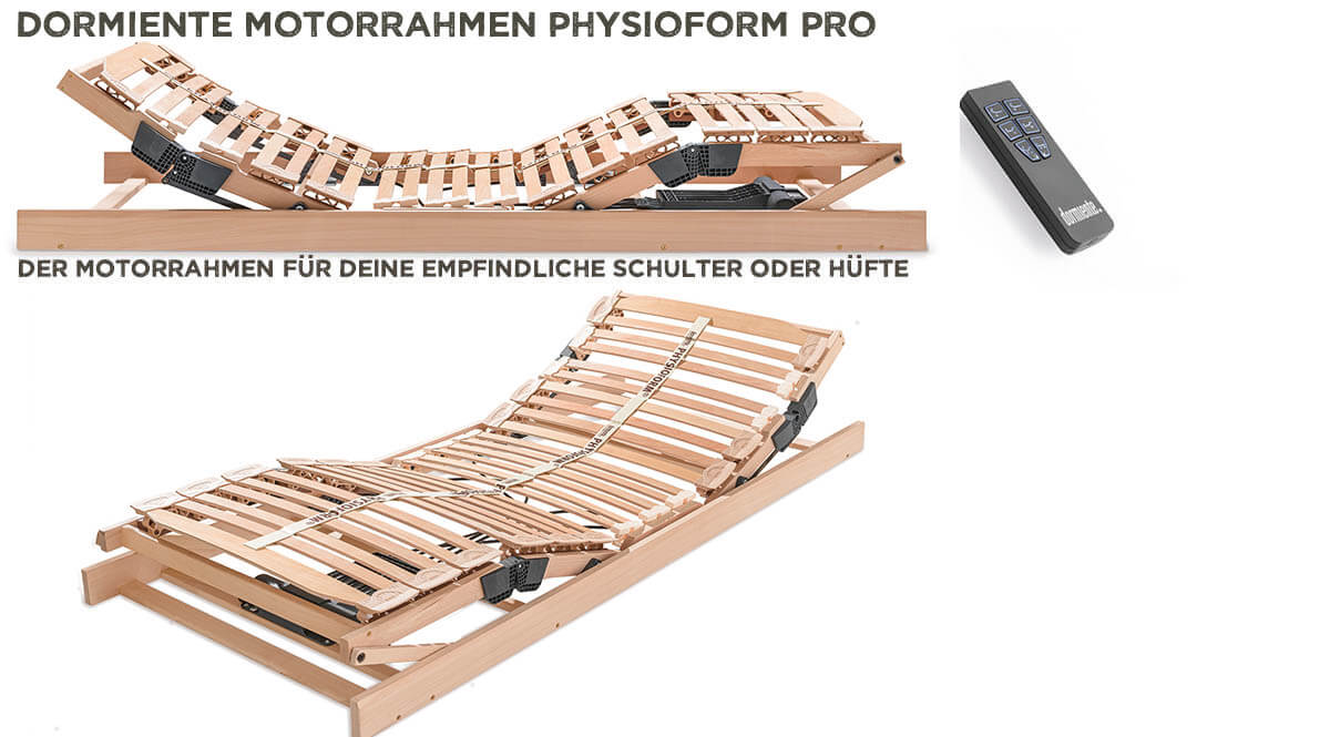 dormiente-Physioform-Pro-Motorrahmen