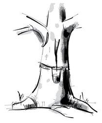 Joka-Materialkunde-Zeichnung-Kautschuk