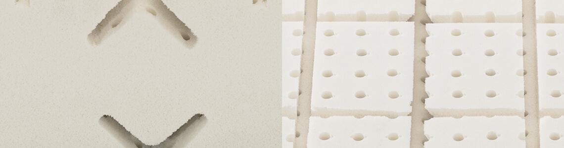 dormiente-Einschnitt-Matratzenkern-Detailansicht